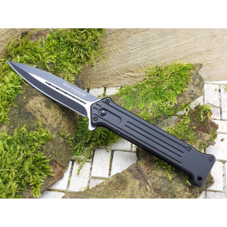Фото 9 - Складной нож Magnum Intricate - Boker 01LL312, сталь 440A EDP, рукоять анодированный алюминий, чёрный