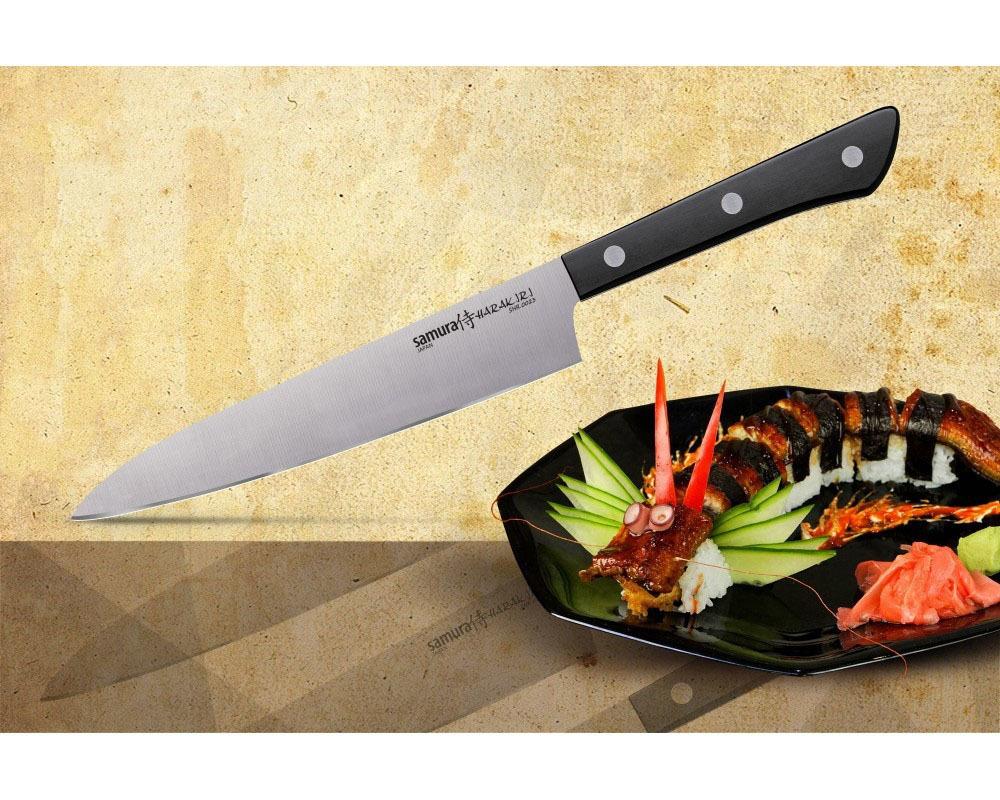 Фото 15 - Нож кухонный универсальный Samura