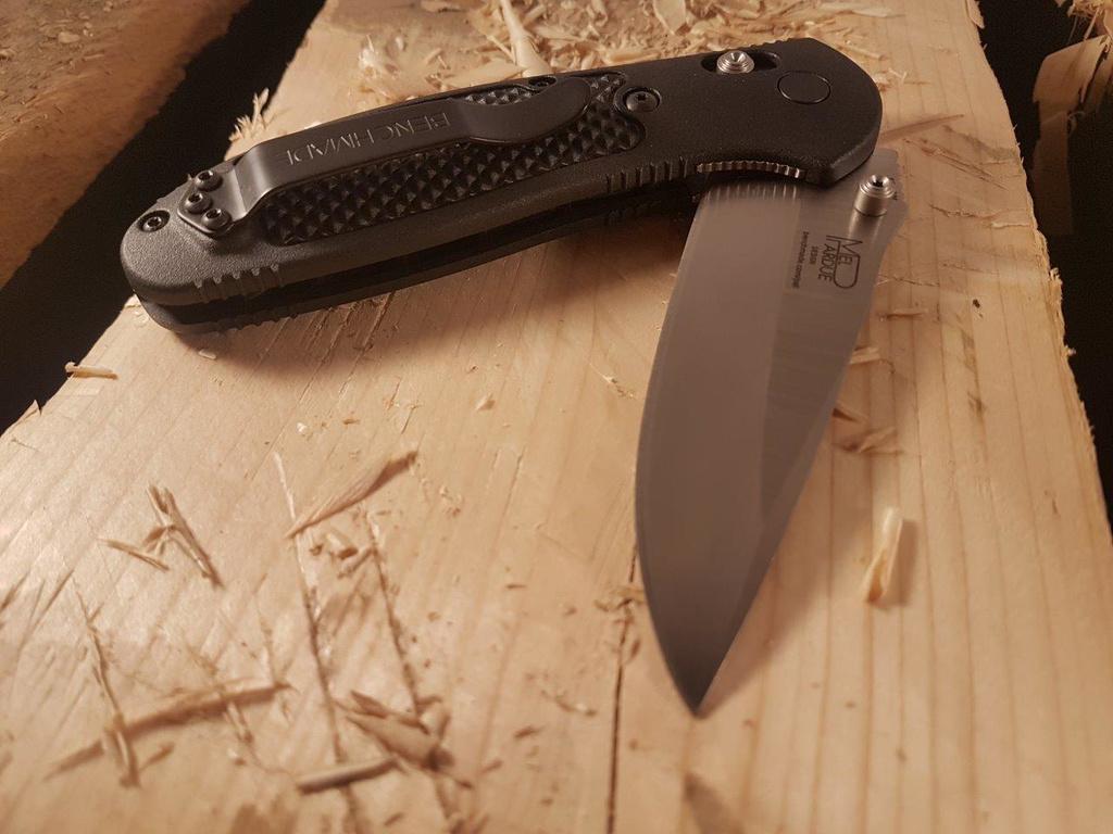 Фото 7 - Складной нож Benchmade Griptilian Satin 551, сталь S30V, рукоять нейлон