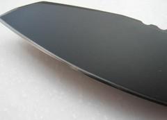 Нож с фиксированным клинком Extrema Ratio Task Compact Black, сталь Böhler N690, рукоять прорезиненный форпрен, фото 2