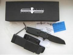 Нож с фиксированным клинком Extrema Ratio Task Compact Black, сталь Böhler N690, рукоять прорезиненный форпрен, фото 4