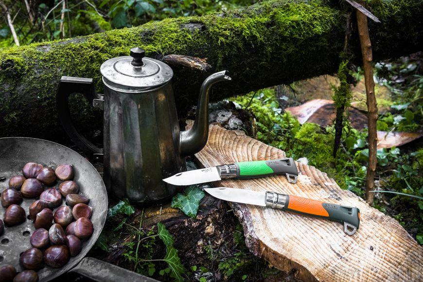 Фото 8 - Складной нож Opinel №12 Explore, нержавеющая сталь Sandvick 12C27, рукоять термопластик, зеленый