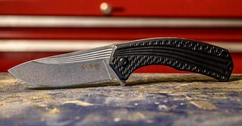 Складной полуавтоматический нож Kershaw Portal K8600, сталь 4Cr14, рукоять пластик