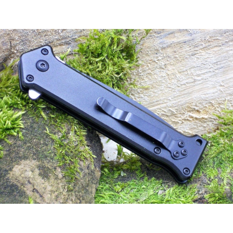 Фото 10 - Складной нож Magnum Intricate - Boker 01LL312, сталь 440A EDP, рукоять анодированный алюминий, чёрный