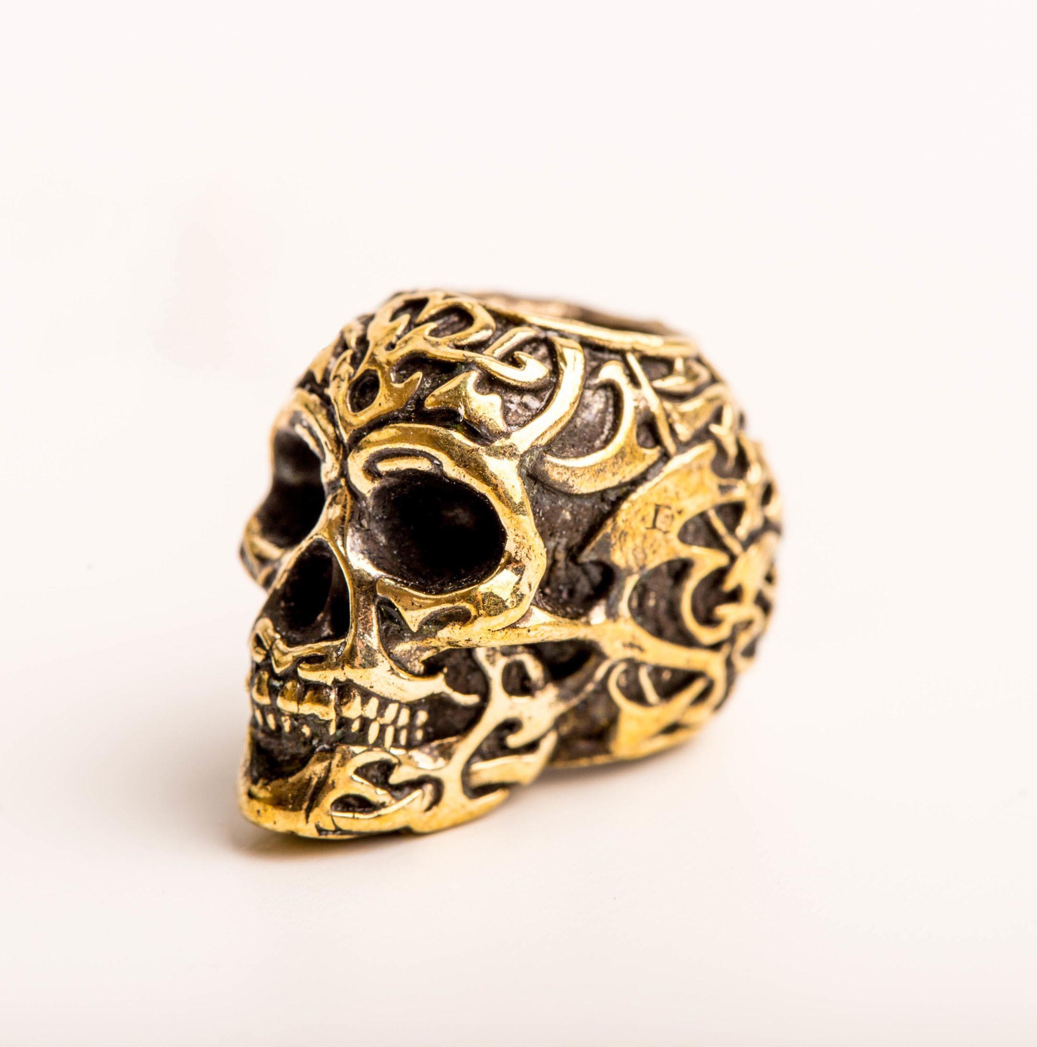 Бусина Triball Skull, бронза от Replica House