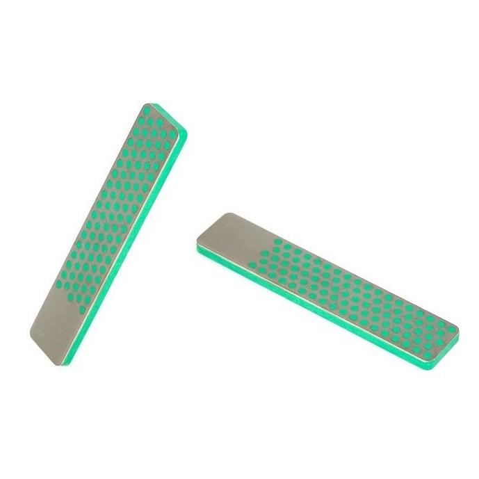 Фото 5 - Алмазный брусок DMT, 2 зоны заточки, 1200 меш, 9 мкм, кожаный чехол от DMT® Diamond Machining Technology