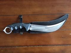 Нож Honshu Aizu Ring Fighter, United Cutlery, UC3010, сталь 7Cr17MoV, рукоять пластик, чёрный, фото 3
