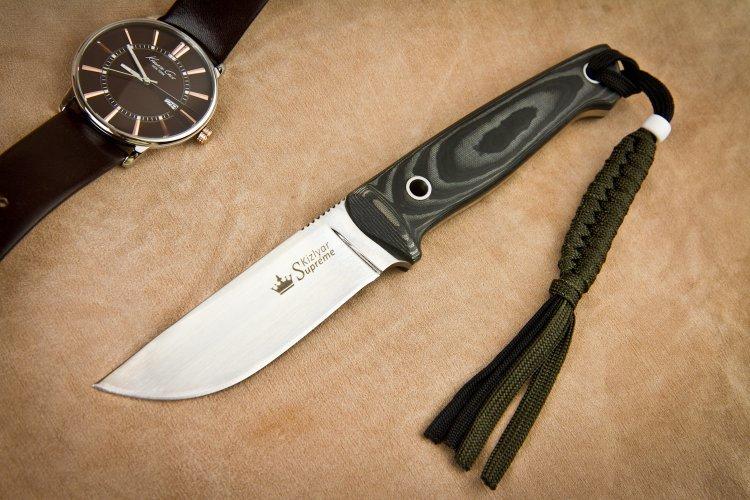 Туристический нож Nikki Aus8 SW, Кизляр туристический нож colada aus 8 satin sw орех кизляр