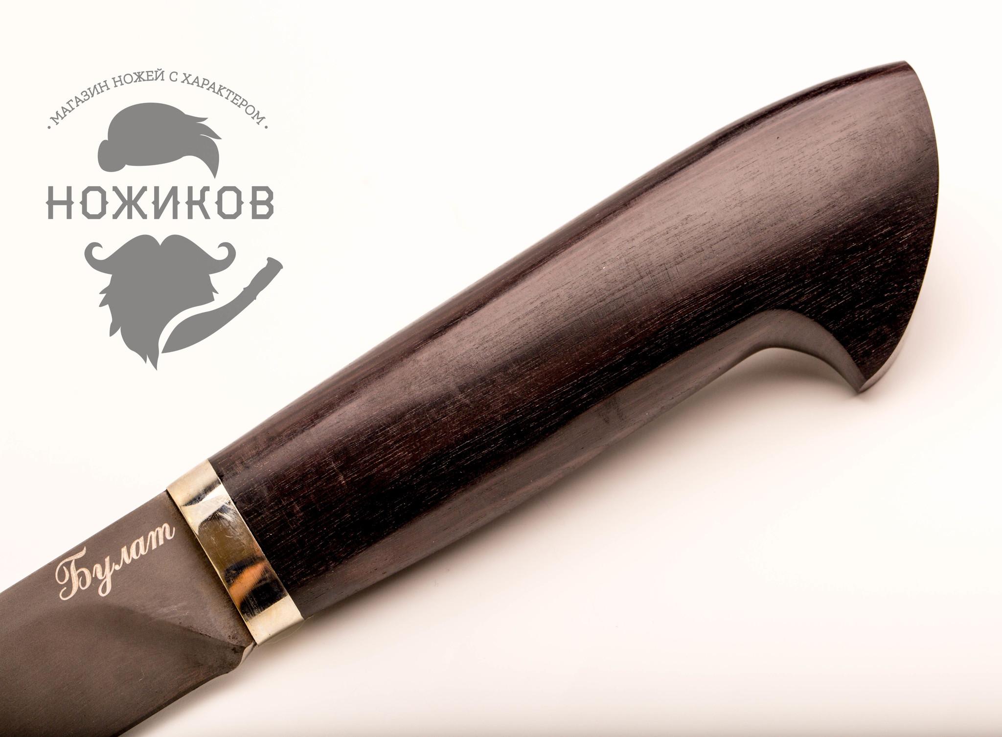 Фото 13 - Нож Якут булат, граб от Мастерская Климентьева