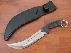 Нож Honshu Aizu Ring Fighter, United Cutlery, UC3010, сталь 7Cr17MoV, рукоять пластик, чёрный, фото 4