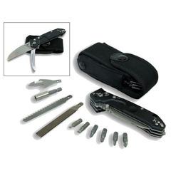Многофункциональный складной нож с выкидным стропорезом Extrema Ratio Police EVO, сталь Böhler N690, рукоять алюминий, фото 1