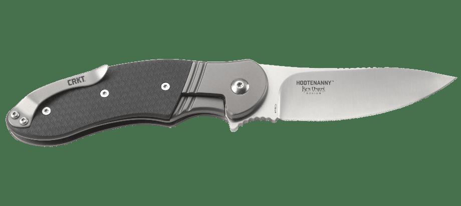 Фото 15 - Нож складной CRKT Hootenanny, сталь 8Cr13MoV, рукоять термоплатик GRN