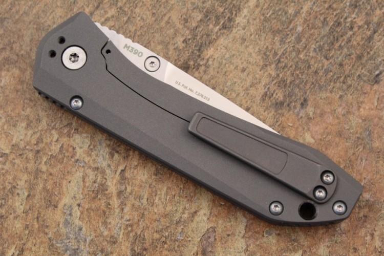Фото 8 - Нож складной Benchmade Mini Ti Monolock 765, сталь M390, рукоять титан