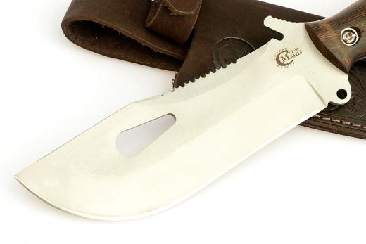 Фото 17 - Нож для выживания «Воин», из нержавеющей стали 65х13 от Кузница Семина