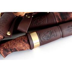 Нож Ahti Puukko Vaara 97, финская береза, сталь W75, фото 2
