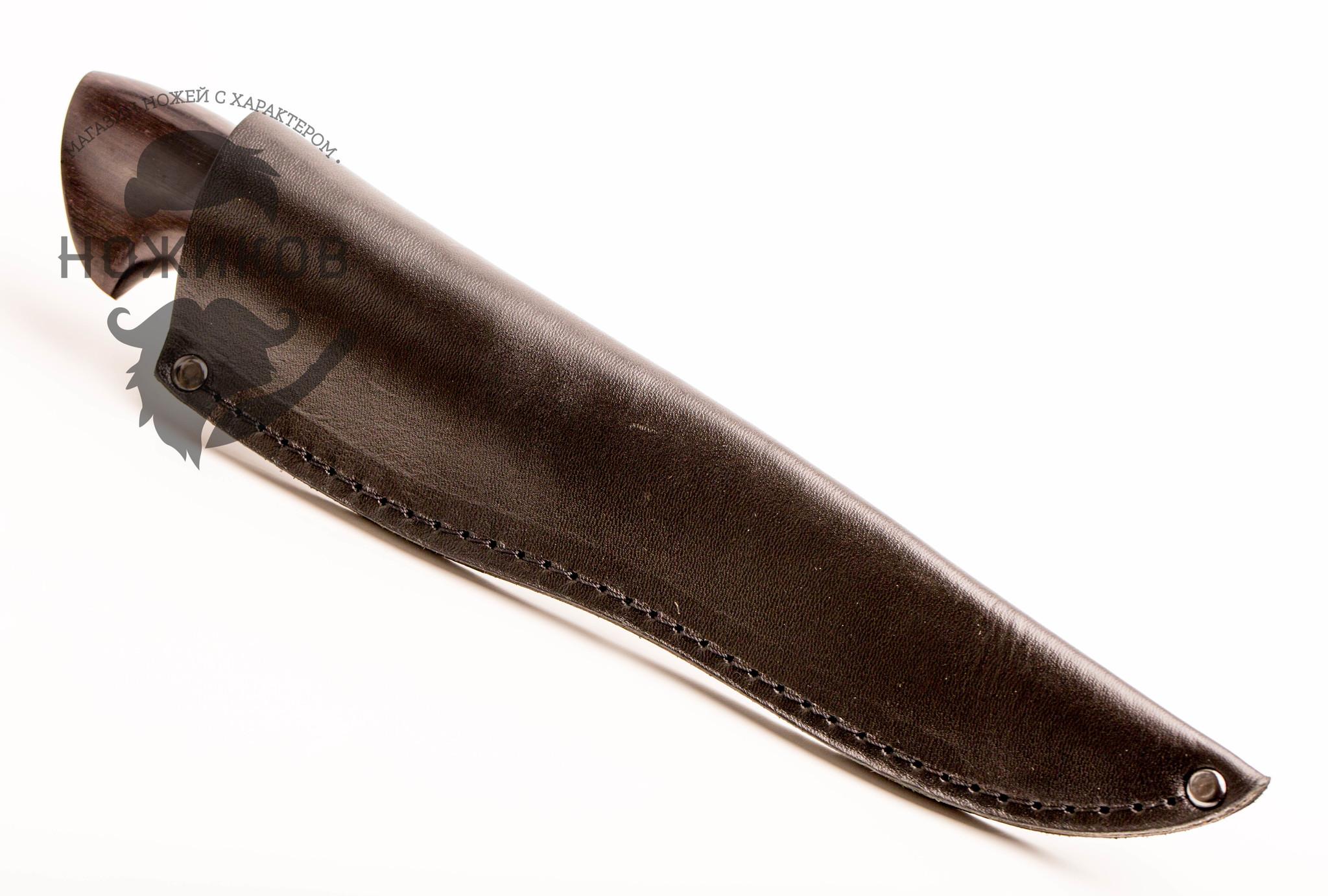 Фото 16 - Нож Якут булат, граб от Мастерская Климентьева