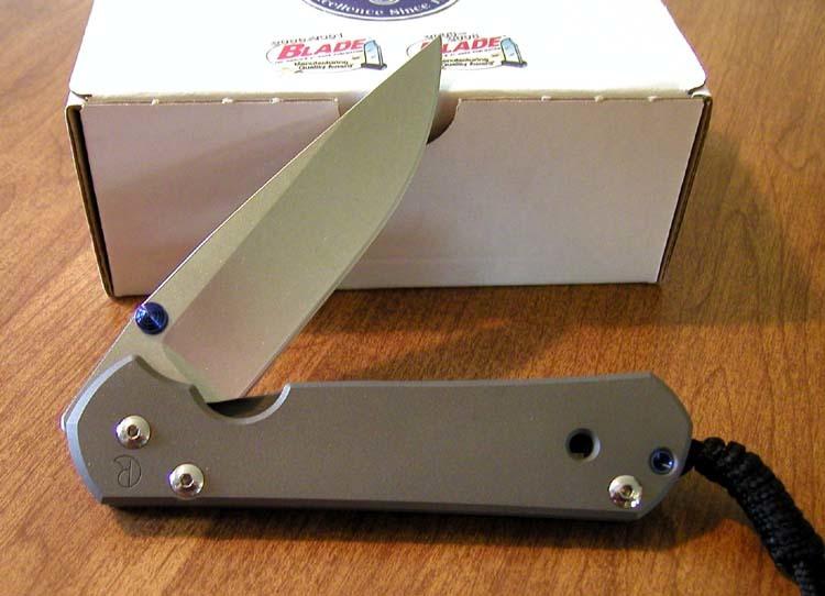 Фото 4 - Нож складной Large Sebenza 21 от Chris Reeve