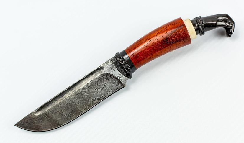 Авторский Нож из Дамаска №30, Кизляр от Noname