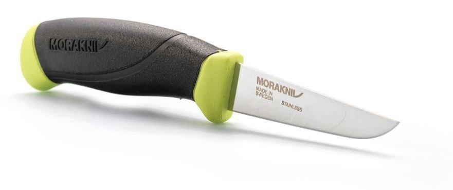 Фото 7 - Нож с фиксированным лезвием Morakniv Fishing Comfort Fillet 090, сталь Sandvik 12C27, рукоять резина/пластик