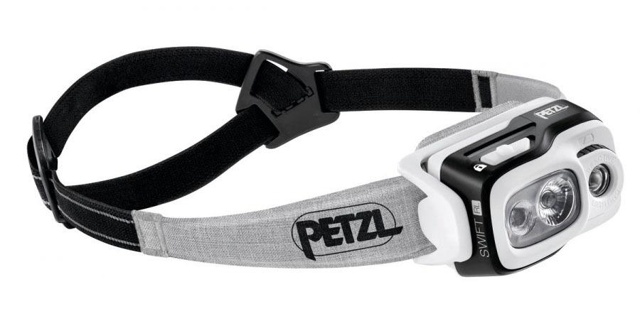 Фонарь светодиодный налобный Petzl Swift RL черный, 900 лм, аккумулятор