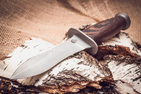 Нож Ратник, сталь 65х13, рукоять венге. Вид 2