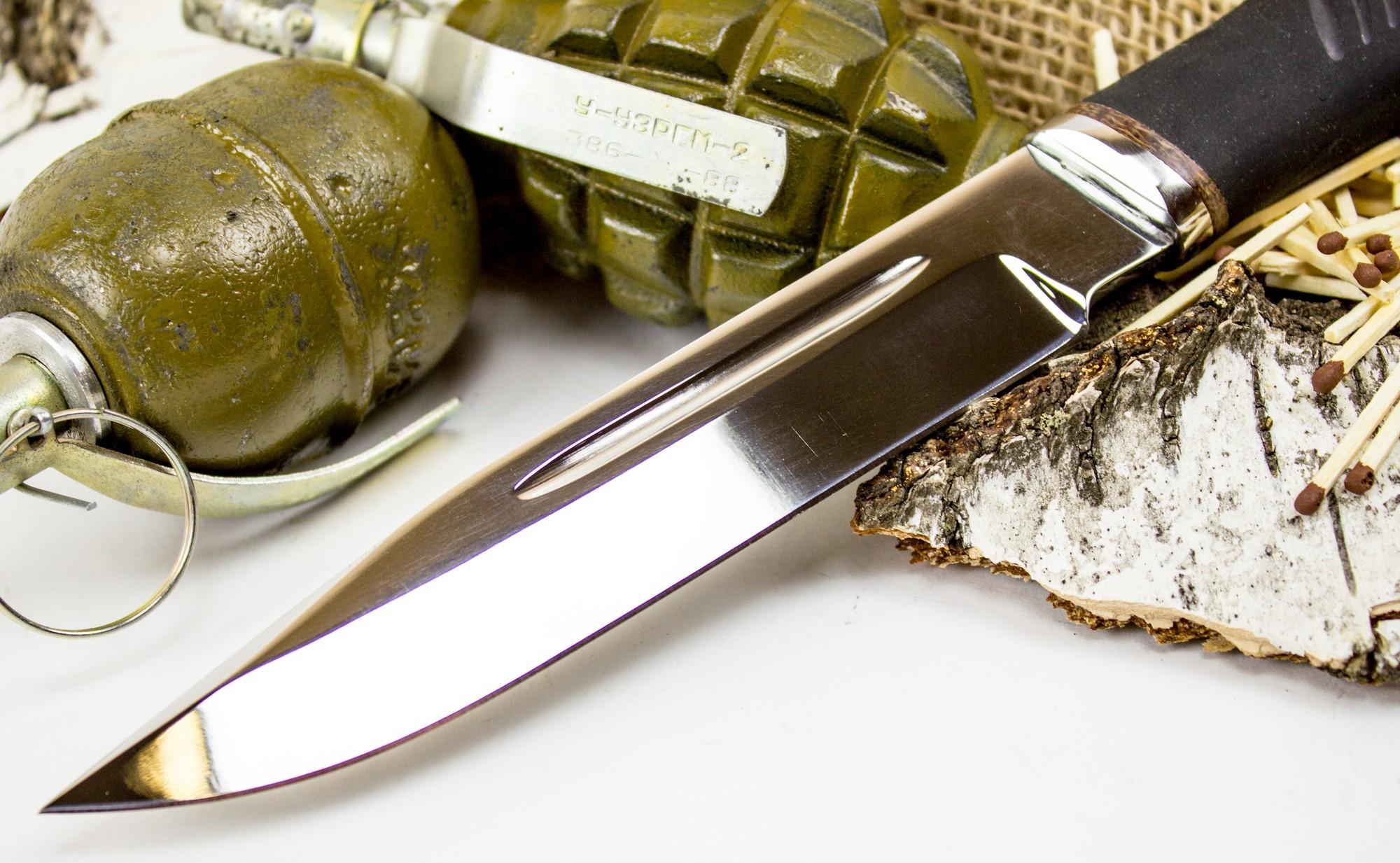 Фото 7 - Нож Казак-1, сталь 65х13 от Титов и Солдатова