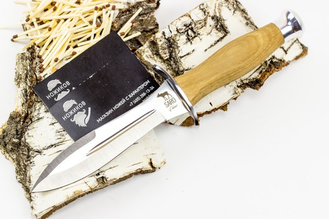 Нож Кречет, дерево - Nozhikov.ru