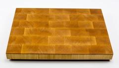 Доска разделочная торцевая, клен, 27х37х3 см
