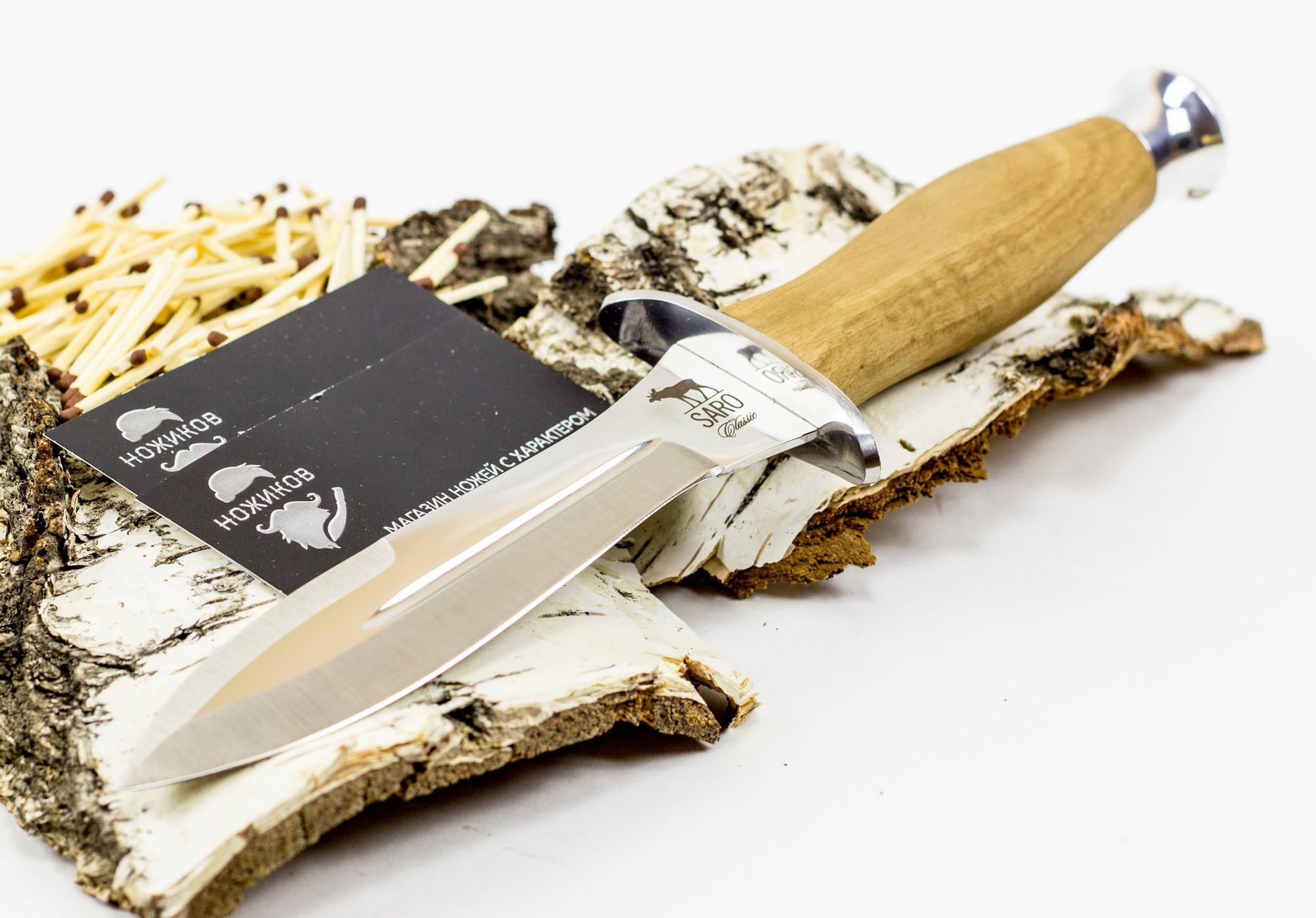 Фото 6 - Нож Кречет, дерево от САРО