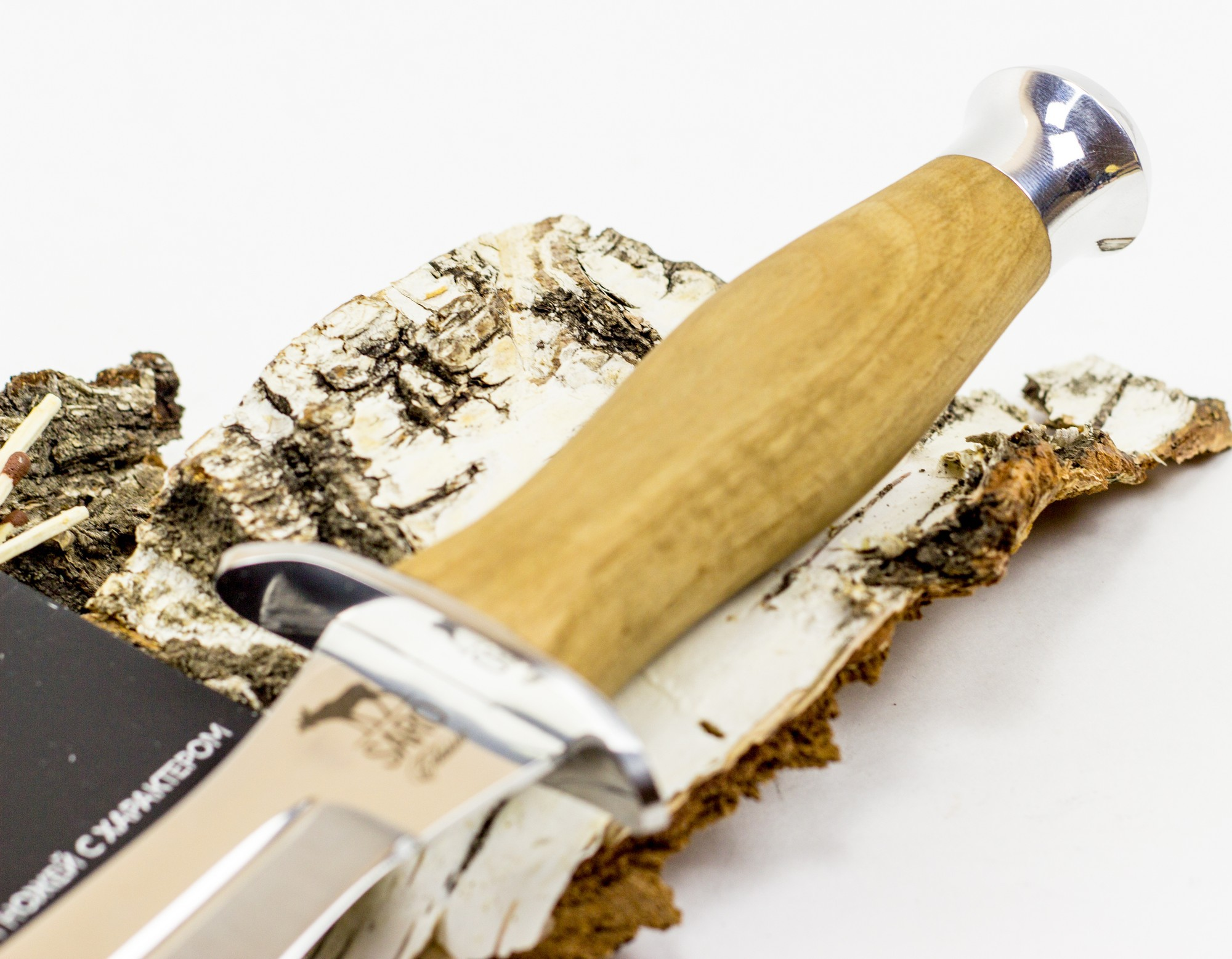 Фото 8 - Нож Кречет, дерево от САРО