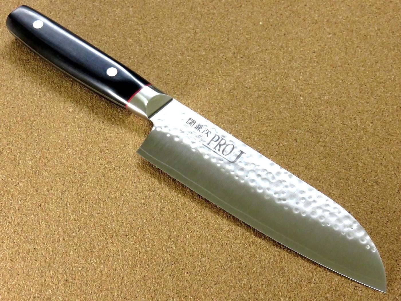 Фото 5 - Кухонный нож Сантоку, Pro-J, Kanetsugu, 6003, сталь VG-10, в картонной коробке