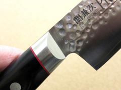 Кухонный нож Сантоку, Pro-J, Kanetsugu, 6003, сталь VG-10, в картонной коробке, фото 5