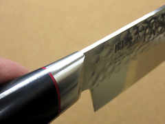 Кухонный нож Сантоку, Pro-J, Kanetsugu, 6003, сталь VG-10, в картонной коробке, фото 6