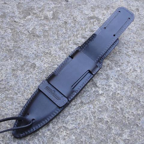 Полевой поварской нож Extrema Ratio Psycho 19 Satin, сталь Böhler N690, рукоять Forprene®. Вид 4