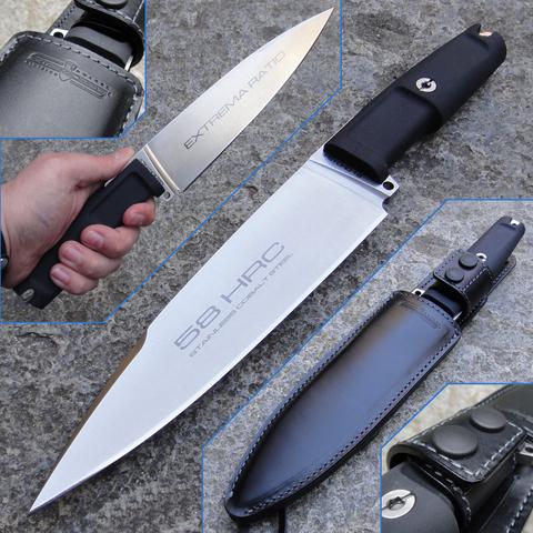 Полевой поварской нож Extrema Ratio Psycho 19 Satin, сталь Böhler N690, рукоять Forprene®. Вид 6