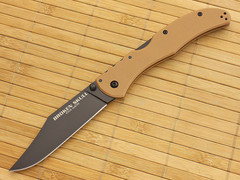 Складной нож Broken Skull II, DLC-Coated Carpenters CTS® XHP Alloy, Coyote Tan G-10 Handle 10.2 см.