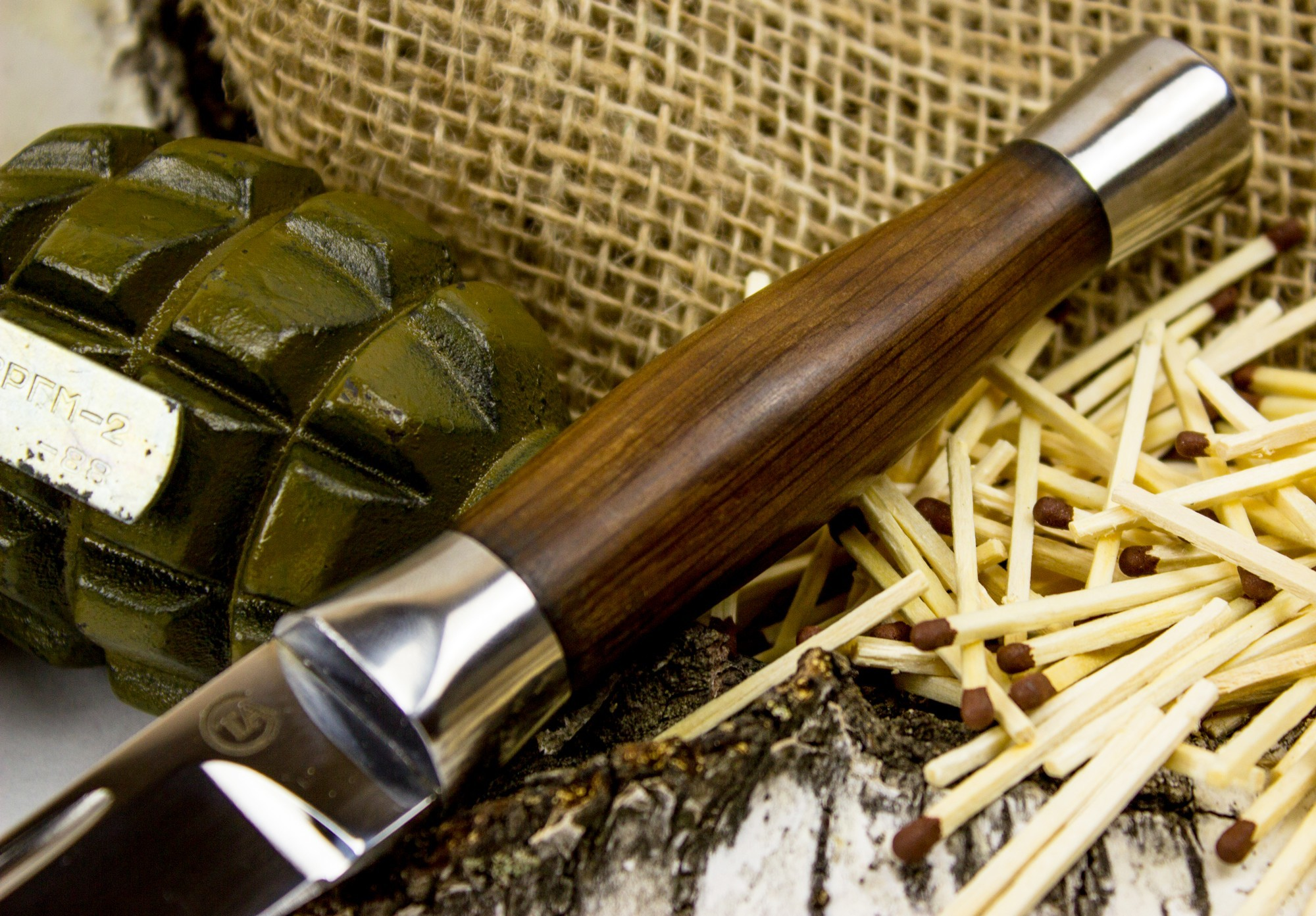 Фото 8 - Нож Горец-3М, сталь 95х18 от Титов и Солдатова