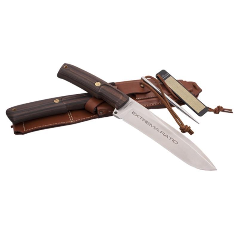 Купить Нож с фиксированным клинком Extrema Ratio Dobermann IV Africa, сталь Bhler N690, рукоять дерево в России