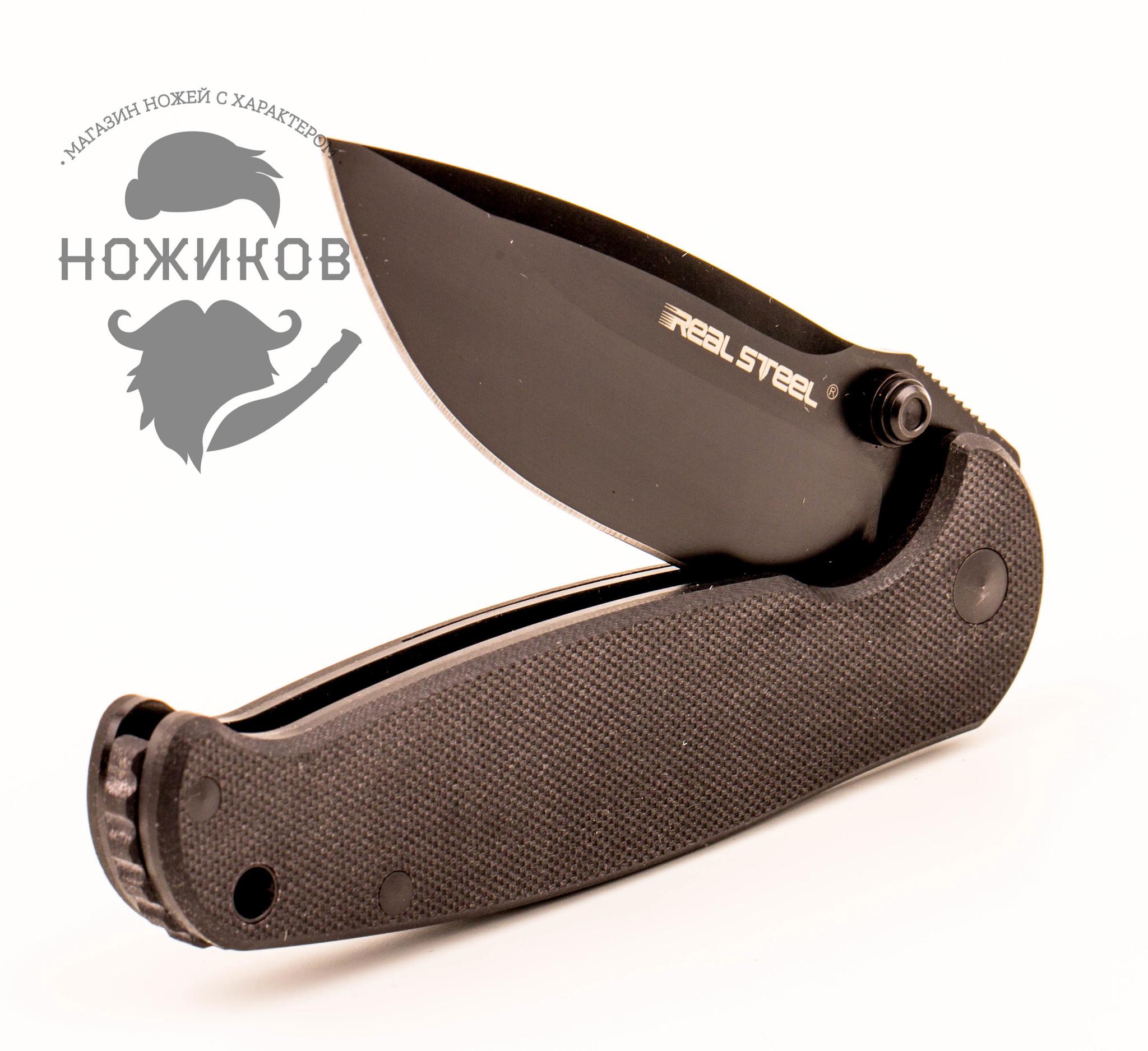 Фото 15 - Складной нож Blue Sheep, H6 All Black от Realsteel