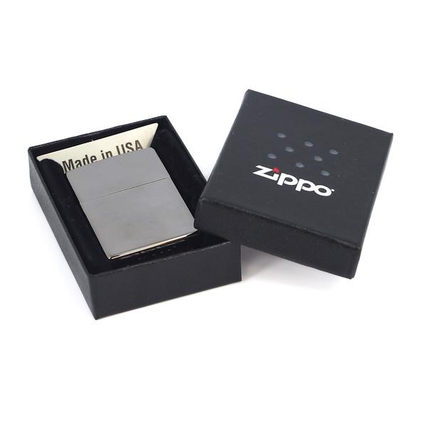 Фото 4 - Зажигалка ZIPPO Classic, покрытие Black Ice, латунь/сталь, черная, глянцевая, 36х12х56 мм
