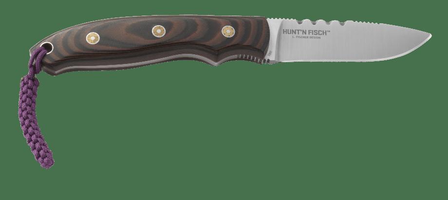 Фото 10 - Нож с фиксированным клинком CRKTHunt'n Fisch™, сталь 8Cr13MoV, рукоять G10