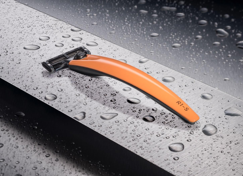 Бритва Bolin Webb R1-S, оранжевая, Gillette Mach3 бритва bolin webb r1 белая gillette mach3