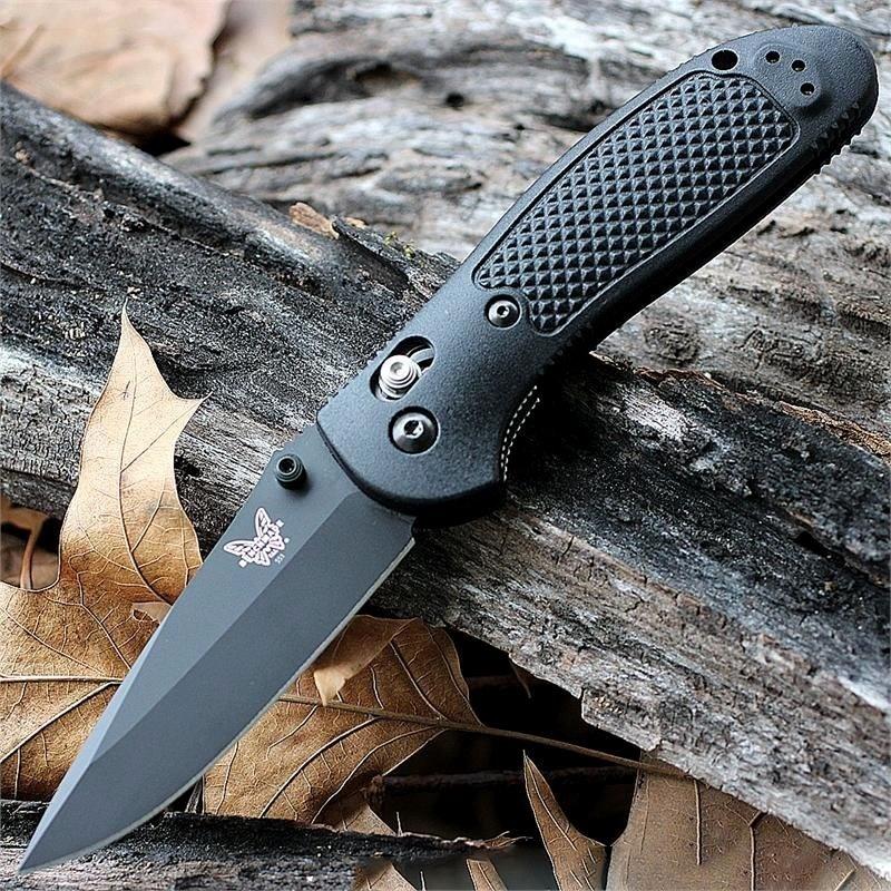 Фото 6 - Складной нож Benchmade Griptilian 551BK, сталь 154CM, рукоять пластик