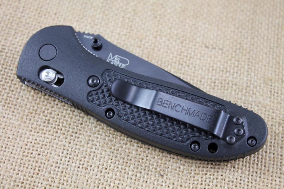 Фото 7 - Складной нож Benchmade Griptilian 551BK, сталь 154CM, рукоять пластик