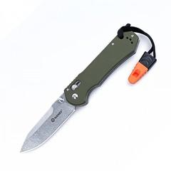 Нож Ganzo G7452-GR-WS, зеленый