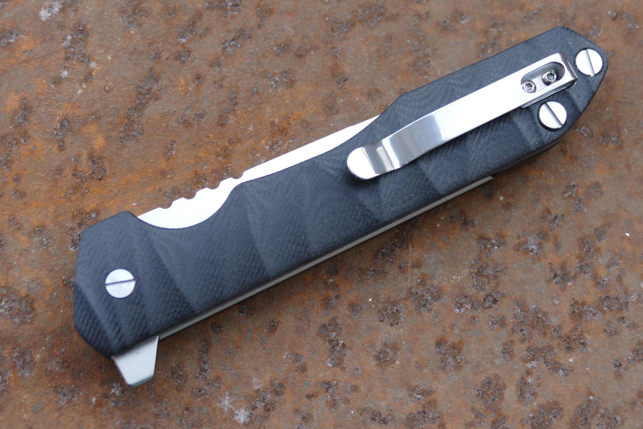 Фото 20 - Складной нож Rassenti 1, D2 от Steelclaw