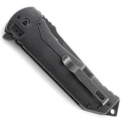 Складной нож CRKT R2103K Ruger® Knives 2-Stage™ Compact, сталь 8Cr13MOV Blackwashed, рукоять алюминий/сталь, фото 3