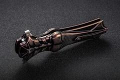 Складной нож Amulet Rikeknife, сталь M390, черно-фиолетовый титан, фото 11