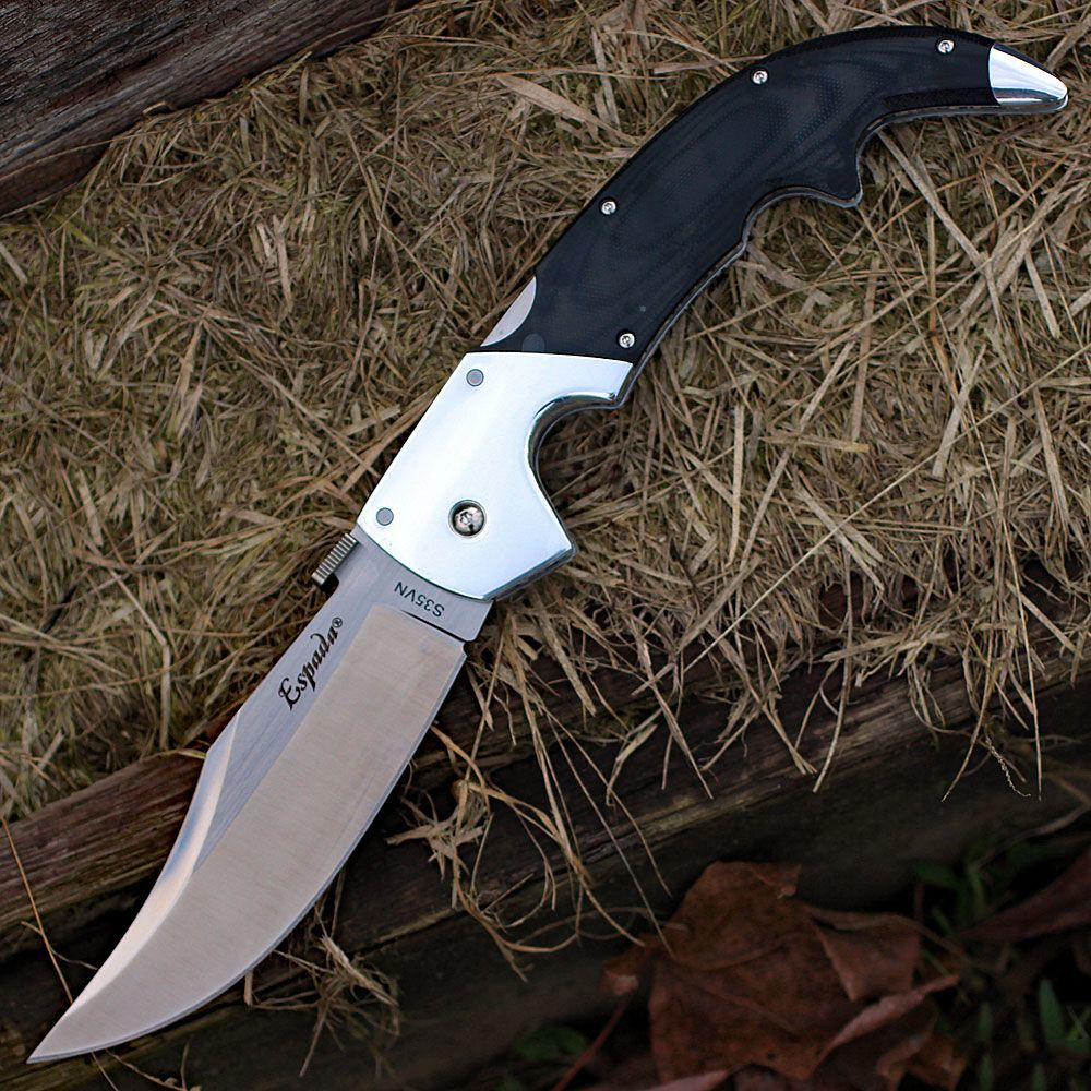 Фото 6 - Складной нож Espada (Large) - Cold Steel 62MB, сталь CPM-S35VN, рукоять G10/Анодированный алюминий