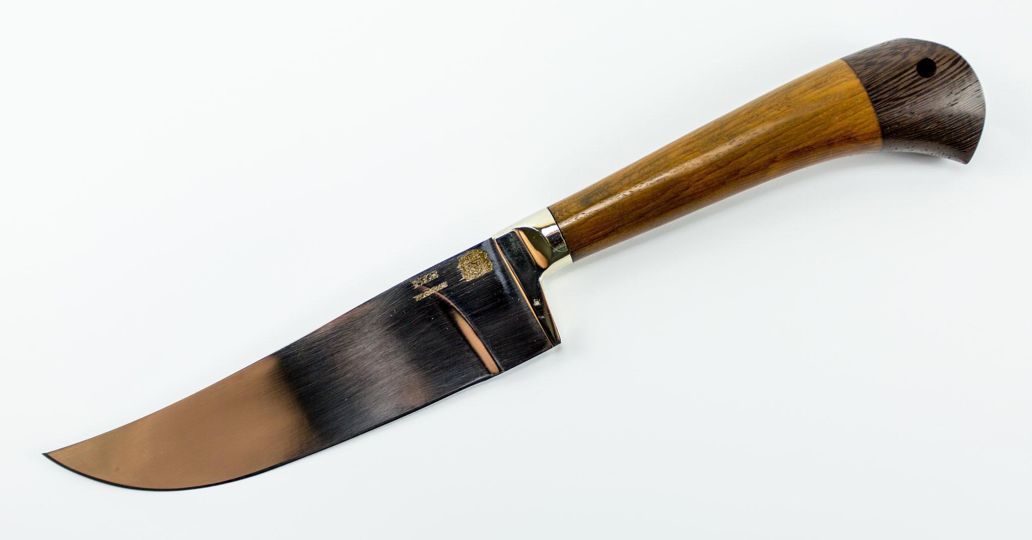 Нож Пчак Средний, сталь 95х18, рукоять орех от Мастерская Сковородихина